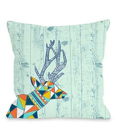 Loving this Into the Woods Throw Pillow on #zulily! #zulilyfinds
