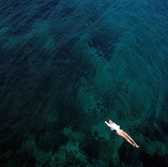 Alone in the ocean