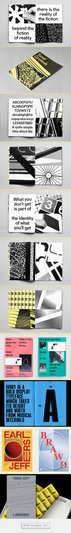 It's Nice That | Fantastic typographic designs by ECAL student Simon Mager... - a grouped images picture - Pin Them All