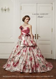 Colored Wedding Dresses, Wedding Gowns, Laura Ashley Clothing, 50s Dresses, Formal Dresses, Romantic Princess, Formal Dance, Princess Ball Gowns, Beautiful Costumes
