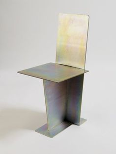 MAX LAMB Flat Iron Chair, 2008 Laser cut steel, zinc plating, trivalent passivate Edition of 36 plus 4 AP