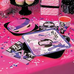 Find the best kids party themes and party supplies from Oriental Trading. We carry party supplies in the most popular party themes for kids, including boys party themes and girl party themes. Karate Party, Karate Birthday, Ninja Birthday Parties, Girls Birthday Party Themes, Ninja Party, Kids Party Themes, Girl Birthday, Party Ideas, Birthday Ideas