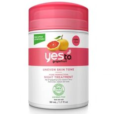 Try Yes To Grapefruit Pore Perfection Night Treatment (left, £12.99, boots.com), which contains tea tree oil and vitamin C to reduce the appearance of pores
