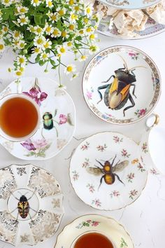 Use waterslide decal paper for a vintage china upcycle.