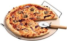 KitchenWorthy Pizza Stone Set *** See this great product. (This is an affiliate link) #PizzaPanandStones