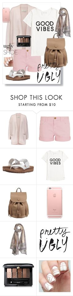 """""""ugly shoes"""" by bria-cutrer ❤ liked on Polyvore featuring By Malene Birger, Current/Elliott, Rockport, Tommy Hilfiger, Vismaya and Guerlain"""