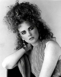 Or pile it on top of your head, making it as high as possible. The sky's the limit! | 9 Magical Photos Of Nicole Kidman And Her Hair In The '80s
