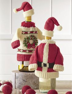 Gifts for the Hostess  Show up to the party with a thoughtful gift for the hostess. Wrap up whimsical wine bottle sweaters for the wine enthusiast or a set of unique swirl cake dish clothes perfect for a hosting couple.