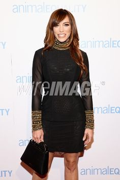 Picture of Singer Jessica Sutta attends the Animal Equality Global Action annual gala at The Beverly Hilton Hotel on December 2 2017 in Beverly Hills California. Jessica Sutta, Cocktail Attire, The Beverly, Celebrity Pictures, Red Hair, Equality, Peplum Dress, Action, Singer