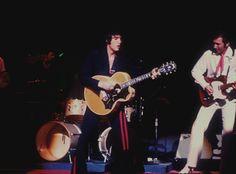 Elvis On Stage with James Burton !  Elvis at the International Hotel   Las Vegas
