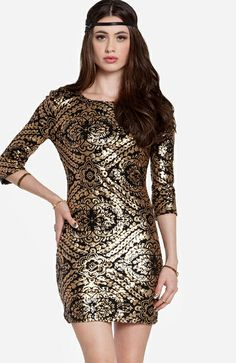 Love this Brocade dress from Shopcade!
