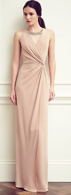 Jenny Packham Jenny Packham Resort 2015 (in a different color) Prom Dresses 2017, Prom Party Dresses, Formal Dresses, Wedding Dresses, Wedding Attire, Simple Dresses, Beautiful Dresses, Long Gown Simple, Modest Fashion