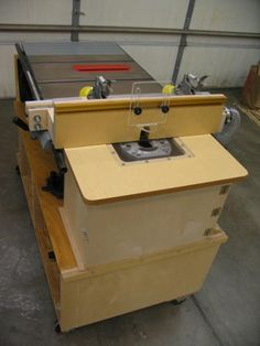 Table Saw Router Table Combo Plans