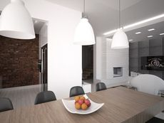 Wnętrze HG-n3 CE Conference Room, Ceiling Lights, Table, Furniture, Home Decor, Houses, Beauty, Decoration Home, Room Decor
