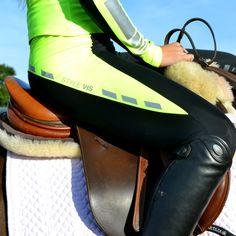 #highvisibility #leggings #technicalleggings #performanceleggings #sportsleggings #activewear #sportswear #performancewear #fluorescent #yellow Equestrian, Activewear, Sportswear, Brand New, Leggings, Horses, Yellow, Silver, How To Wear