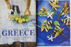 Food & Wine on Modern Greek Food