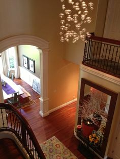 Home Design and Interior Design Gallery of Awesome Hall With Fancy Pendant Lamp Hamill House Second Design