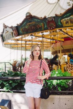 Striped Summer Outfi