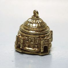 14k Gold Vintage Royal Albert Hall Charm London England | eBay