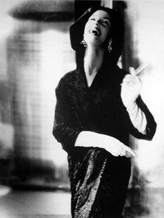 Model Barbera Mullen by Lillian Bassman