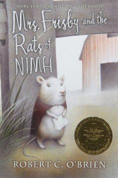 Mrs. Frisby and the Rats of NIMH by Robert C. O'Brien http://www.amazon.com/dp/0689710682/ref=cm_sw_r_pi_dp_OGHSwb0AA5TFE