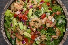 Here's a video showing you how to make it: | This Shrimp And Avocado Taco Salad Is Delicious And Low-Carb