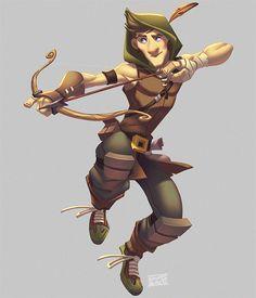 Robin Hood by Javas.deviantart.com on @deviantART