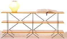 Retro mid century modern modular shelving and storage by GoShelves
