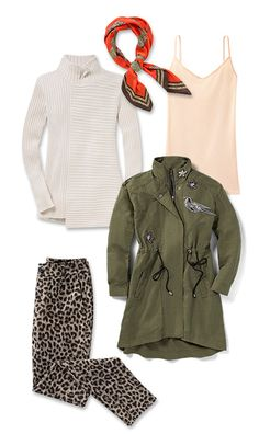 Check out five unique ways to mix and match the Hanson Anorak with other cabi items!