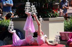 Japanese Show at Epcot - Orlando, Florida