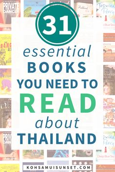 31 Books That Explain Thailand Perfectly via @kohsamuiguide