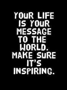 What's your message....