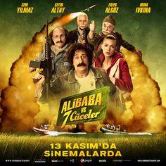 Ali Baba ve 7 Cüceler filmini 15 Kasım saat 15:00'da #CemYılmaz ve oyuncu kadrosu ile #Espark Cinemaximum'da izle!