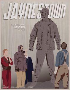 Jaynestown Firefly Illustrated Poster