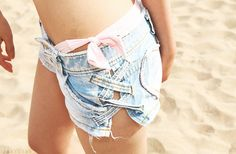 Interesting way to change your old shorts... also very good idea after long winter and all those extra kilos :P