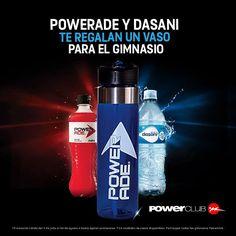 Si realizas 5 compras de estos productos en @powerclubpanama podrás reclamar tu vaso GRATIS en la caja de la cafetería del gimnasio #CualEsTuExcusa