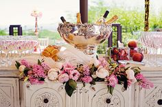 Beautiful bridal shower decorations