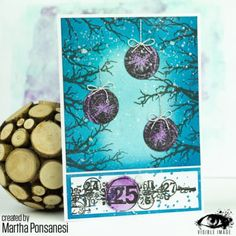 Christmas card   Tree Branch Stamp   Grungy number line   Visible Image  Martha Ponsanesi Dt Post, Image Stamp, Christmas Cards To Make, Distress Ink, Creative Cards, Homemade Cards, Tree Branches, I Card, Card Stock