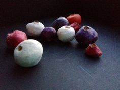 Ceramic Beads - Necklace Pendants by CreateLoveToday on Etsy https://www.etsy.com/shop/CreateLoveToday?ref=hdr