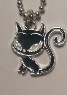 Naughty KITTY CAT Pendant Necklace NEW!