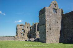 The interior of Roscommon Castle