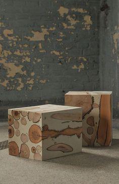 // matthias borowski #table #stool