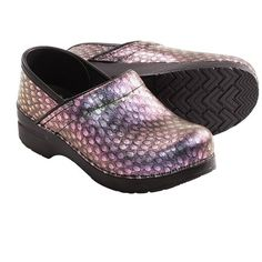 Dansko Professional Peacock Clogs - Leather (For Women)