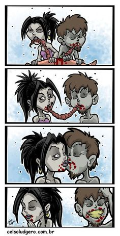 Zombies got emotions too.