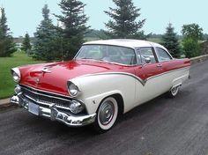 1955 Ford Fairlane Crown Victoria.