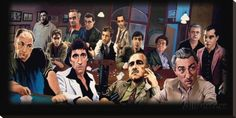 Bad Guys Stretched Canvas Print by Justin Reed - AllPosters.co.uk