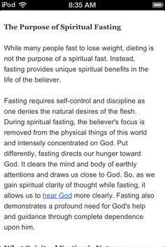 Fasting--- I REALLY need to do this!