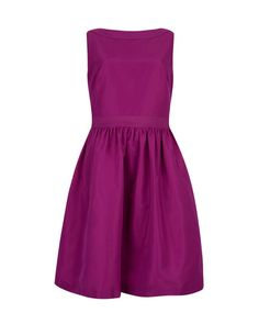 Bow detail dress - Fuchsia | Dresses | Ted Baker