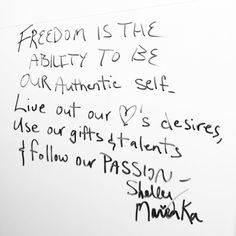 """What does freedom mean to you?"" Our visitors inspire us every day.  #NCSML #freedom #whiteboardwisdom #passion #museumlife #cedarrapids #cedarrapidsiowa"