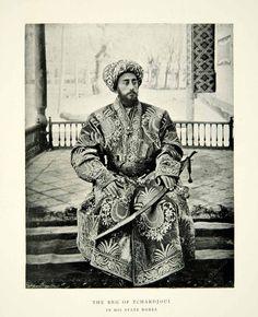 Gay Times Past - yingce:   Beg of Chardouji / Turkmenistan 1898.